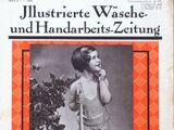 Illustrierte Wäsche- und Handarbeits-Zeitung No. 7 1936