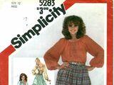 Simplicity 5283 A