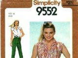 Simplicity 9552