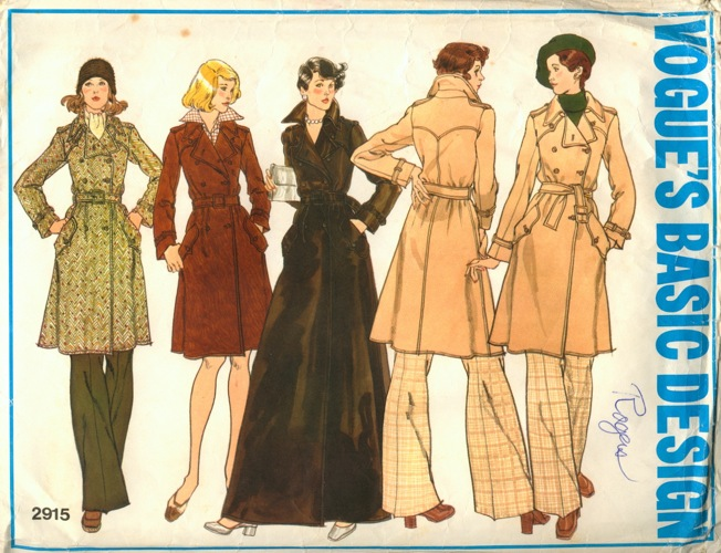 Vogue 2915 Vintage Sewing Patterns Fandom Powered By Wikia