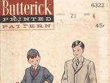 Butterick 6322 B