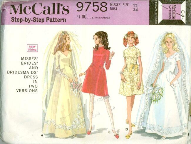 McCalls 9758F