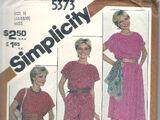 Simplicity 5373 B