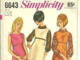 Simplicity 6643 A