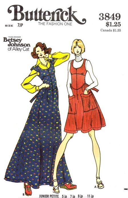 Butterick 1974 3849