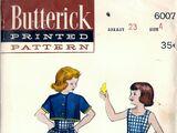Butterick 6007 B