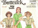 Butterick 5989 B