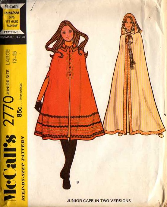 McCall\'s 2770 | Vintage Sewing Patterns | FANDOM powered by Wikia
