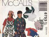 McCall's 6753 A