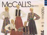 McCall's 7800 A