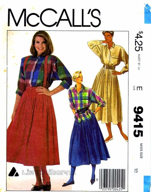 McCalls 1985 9415