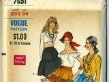 Vogue 7651 A