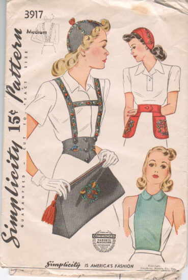 Simplicity 3917 | Vintage Sewing Patterns | FANDOM powered by Wikia