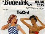 Butterick 5485 A