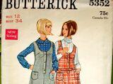 Butterick 5352