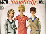 Simplicity 6678 A