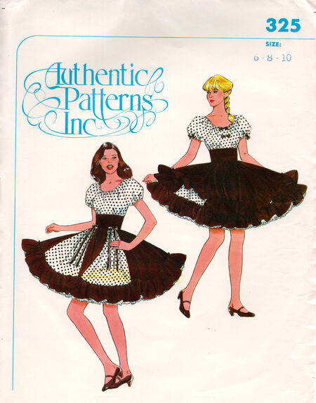 Authentic 325 | Vintage Sewing Patterns | FANDOM powered by Wikia