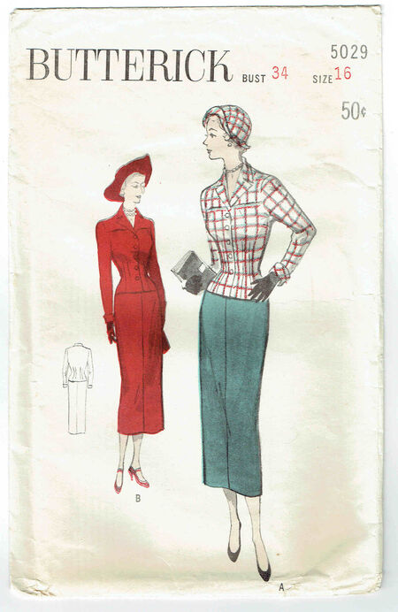 Butterick 5029 front