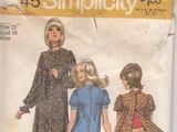 Simplicity 9745 A