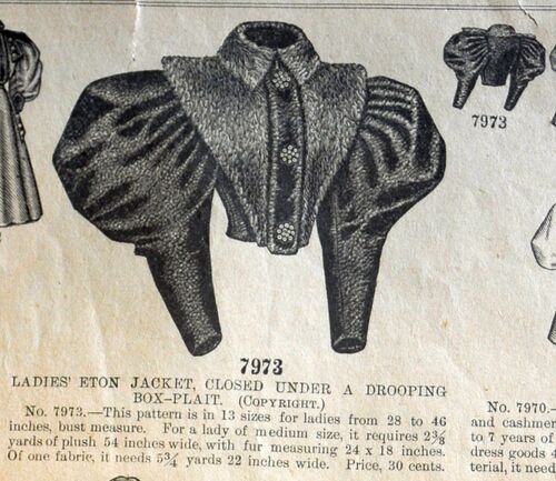 Butt 7973 drooping jacket