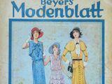 Beyers Modenblatt No. 7 Vol. 9 1930