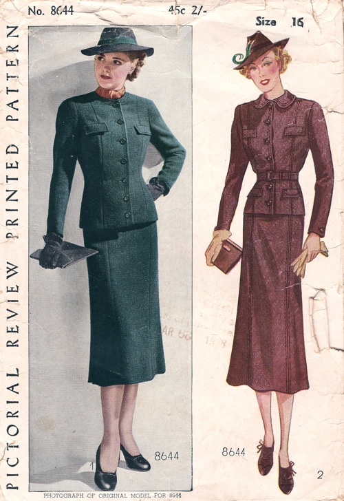Pictorial Review 8644 Vintage Sewing Patterns Fandom