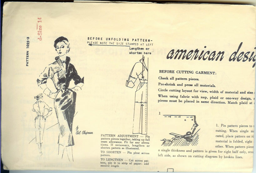 Category Ceil Chapman Vintage Sewing Patterns Fandom