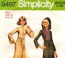 Simplicity 9497 A