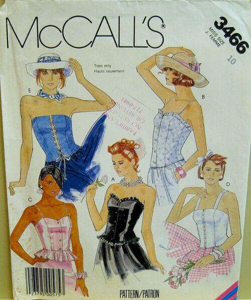 Mccall's 3466