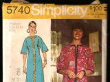 Simplicity 5740
