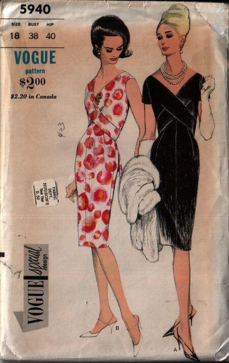 Vogue 5940 front
