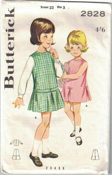 Butterick 2828 A