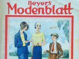 Beyers Modenblatt No. 9 Vol. 9 1930