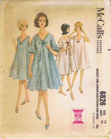 McCalls 1963 6826