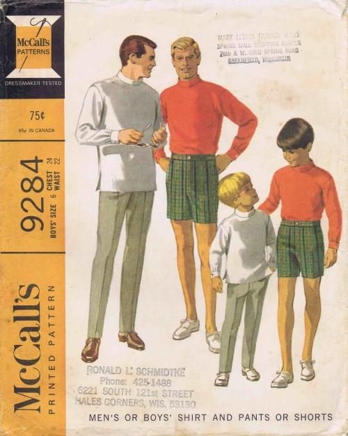 McCalls 1968 9284
