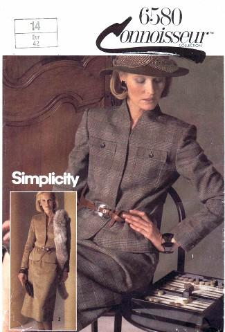 Simplicity 1984 6580