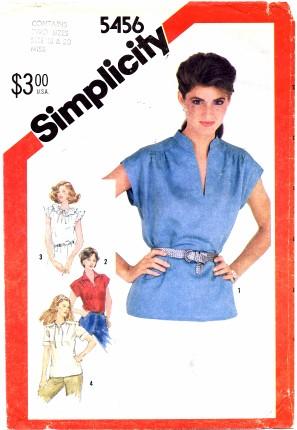 Simplicity 5456 A