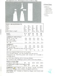 Butterick 3154back