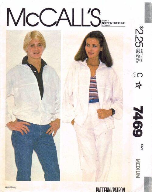 McCalls 1981 7469 F Bust 36 - 38