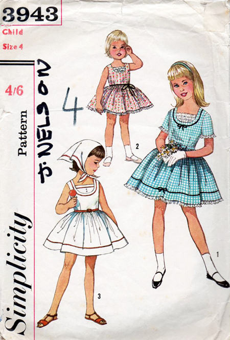 Simplicity 3943 | Vintage Sewing Patterns | FANDOM powered by Wikia
