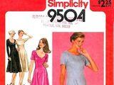 Simplicity 9504 B