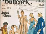 Butterick 3405 A