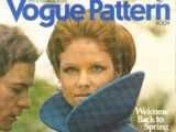 Vogue International Pattern Book February/March 1972