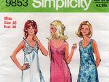 Simplicity 9853 A