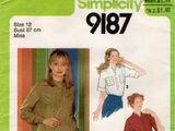 Simplicity 9187 A