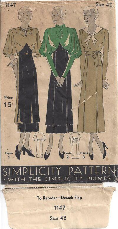 Simplicity 1147-1