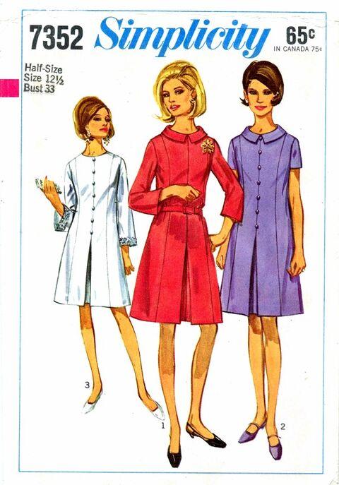 Simplicity 1967 7352