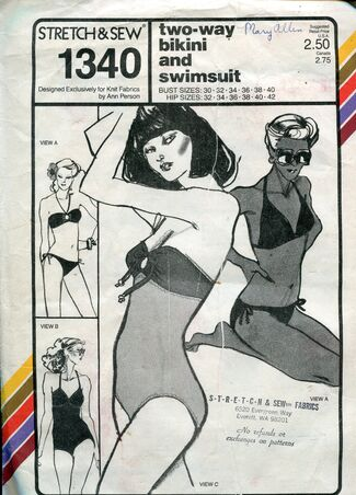 Stretch&sew1340swimsuit