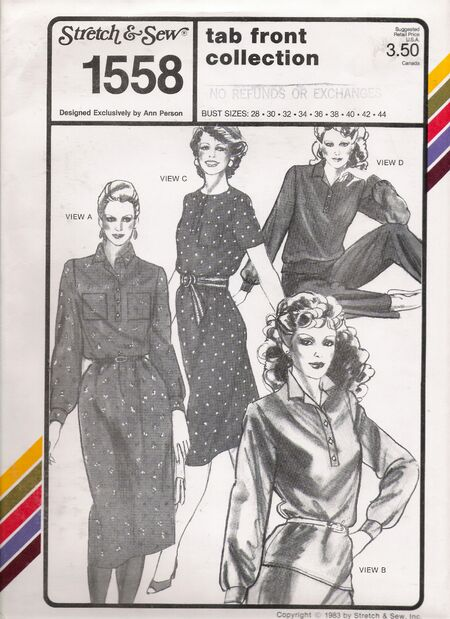 Stretch & Sew 1558 image