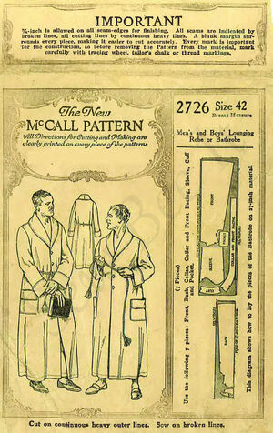 McCall 2726 | Vintage Sewing Patterns | FANDOM powered by Wikia
